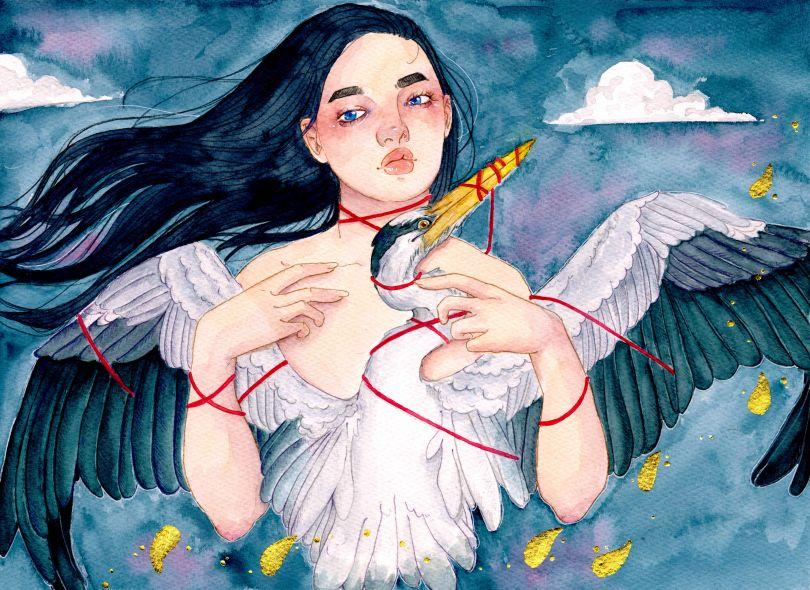 Her Heart was a Bird © Courtney Finch