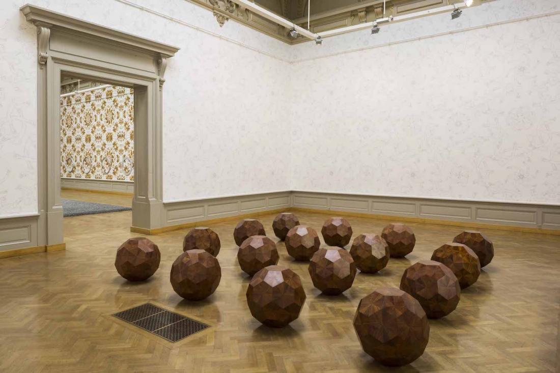 Untitled, 2012, huali wood, 20 elements, 68 × 67.5 × 63 cm each © Studio Ai Weiwei