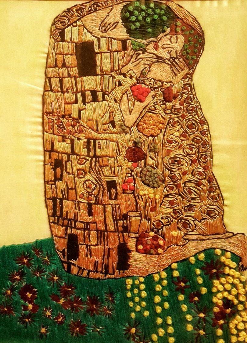 Inspired by The Kiss - Gustav Klimt