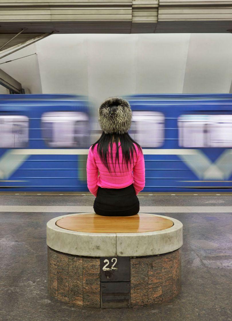 Metro Girl, 2016 © Frank Herfort