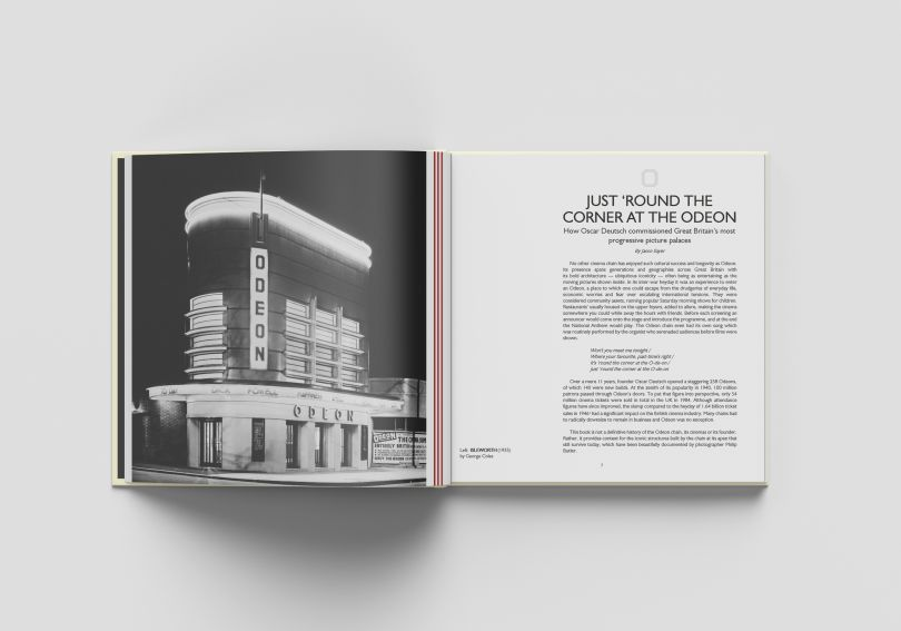 Odeon Relics, a new hardback book by Philip Butler. Photography courtesy of Philip Butler