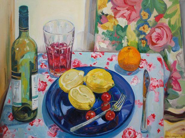 Still Life with Lemons. © Lisa Langan