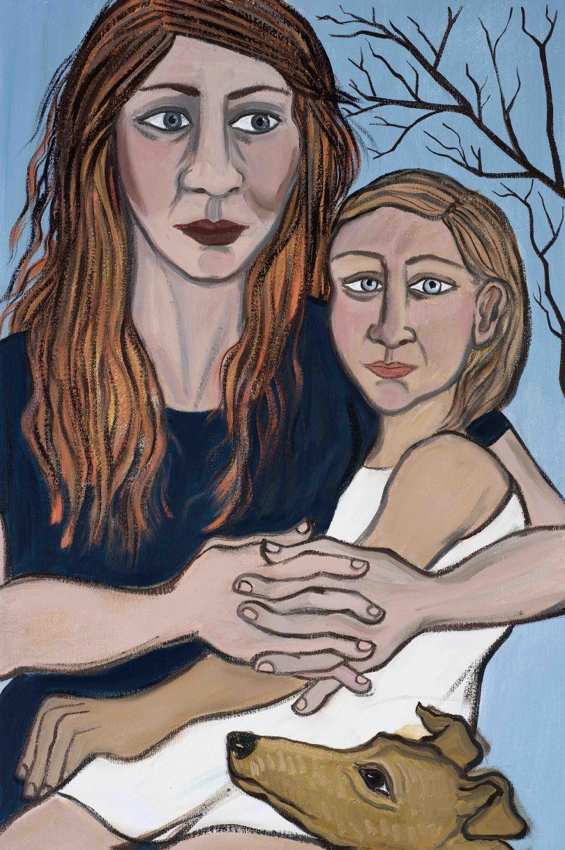 Eileen Cooper, 'Child', 2019, oil on canvas, 30 × 20 in (76 × 50 cm)