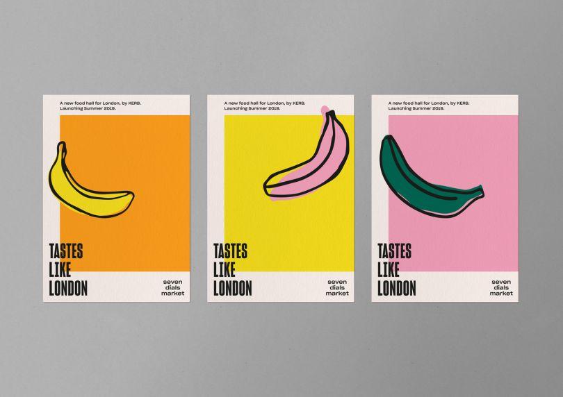 The Plant creates Velvet Underground-esque branding for Covent Garden's Seven Dials Market