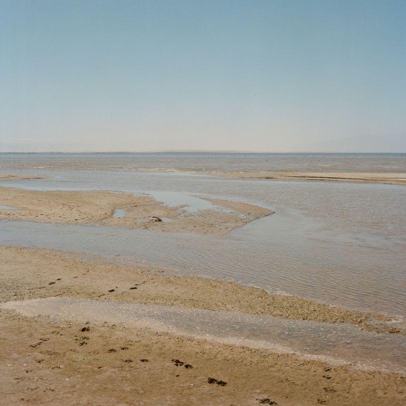 New River Enters Salton Sea © Debbie Bentley