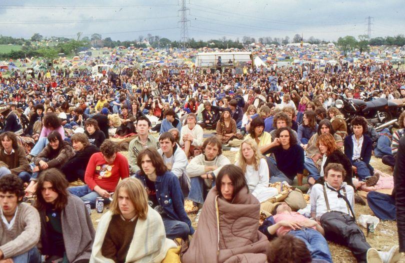 Glastonbury 1979 photographer credit Dave Walkling