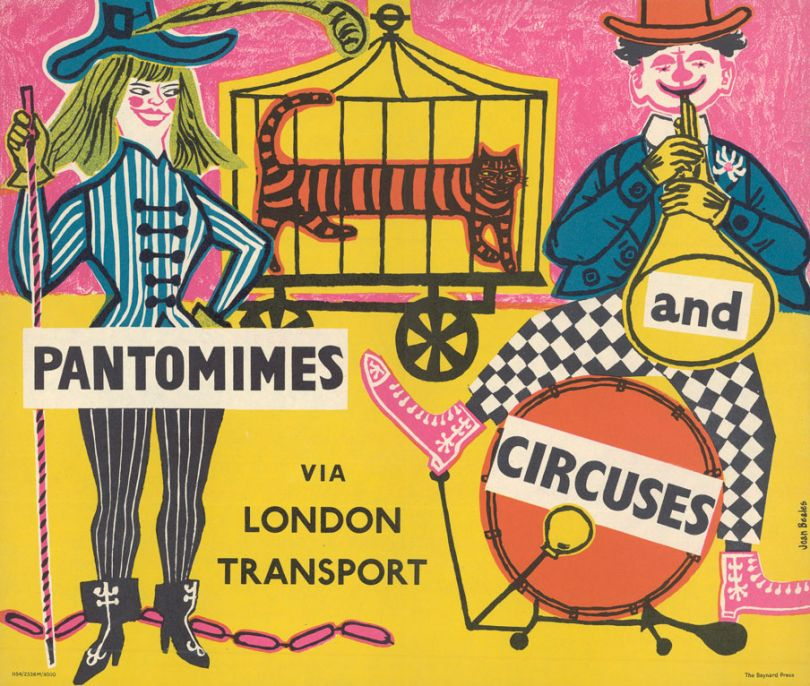 Pantomimes and circuses, by Joan Beales, 1954