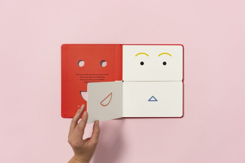 Here Design's new interactive book helps children talk about feelings  through graphics | Creative Boom