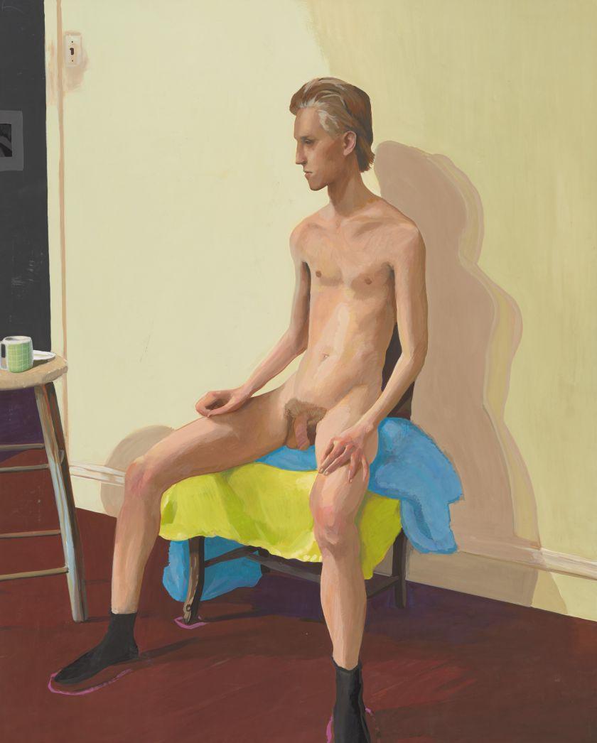 Lewis, Untitled (Nude Portrait), c. 1980
