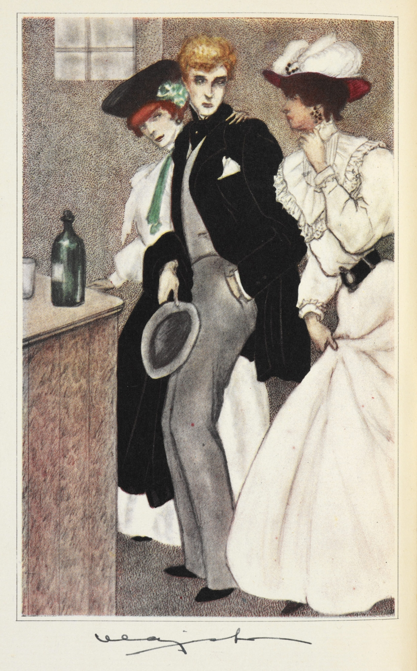 The Picture of Dorian Gray ... Illustrated by Majeska (c) British Library Board