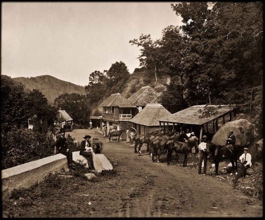 Gordon Town, Jamaica. J.W. Cleary, 1891. Courtesy Caribbean Photo Archive / Autograph ABP