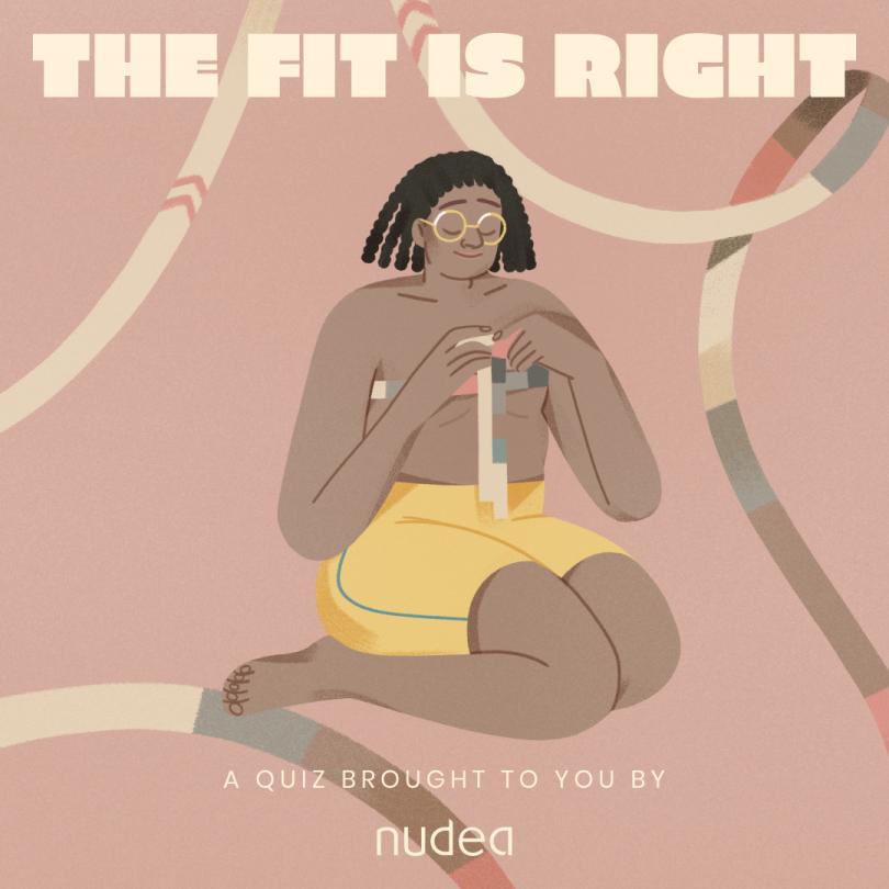 Quiz illustrations by Eugenia Mello for NUDEA