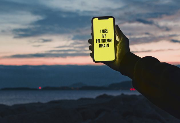 Image courtesy of Douglas Coupland, Slogans for the 21stCentury, and Maria Francesca Moccia / EyeEm, via Getty Images