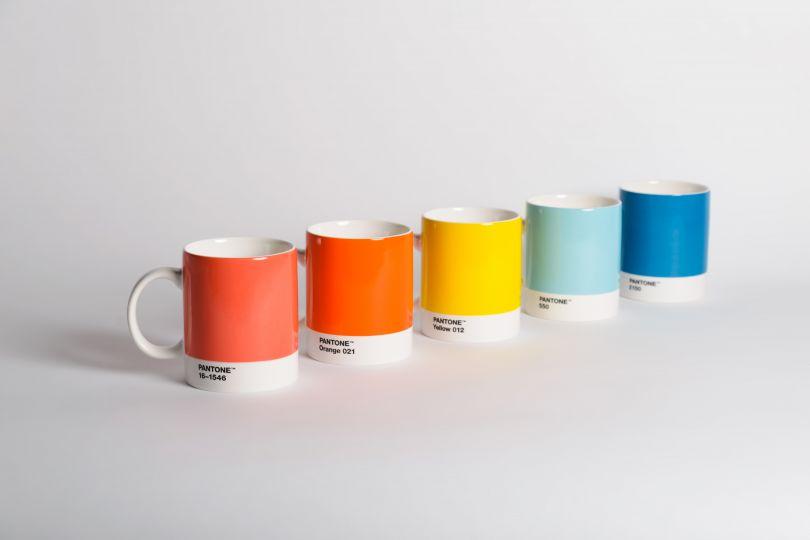 Pantone mugs, via Hen's Teeth