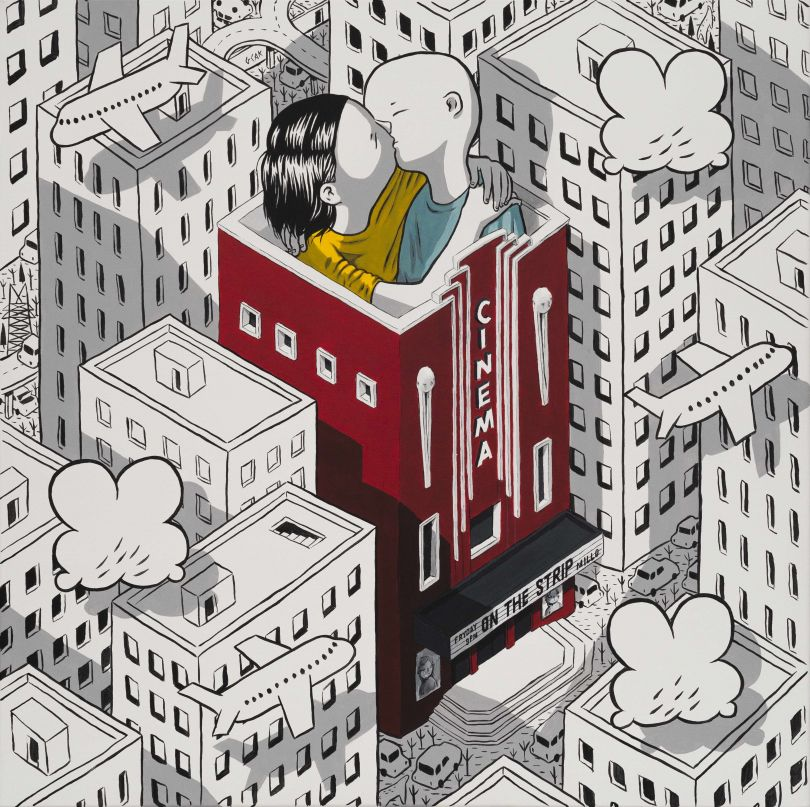 This is Running Backwards © Millo. All images courtesy of the gallery and the artists.