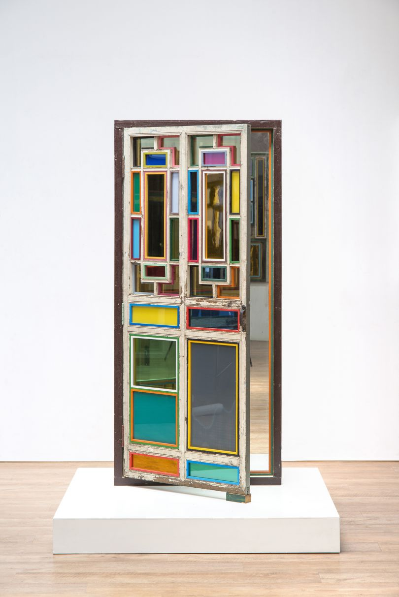 Song Dong: Window Door Screen – Single Screen No. 22018-2019 © Song Dong, Courtesy of Pace Gallery