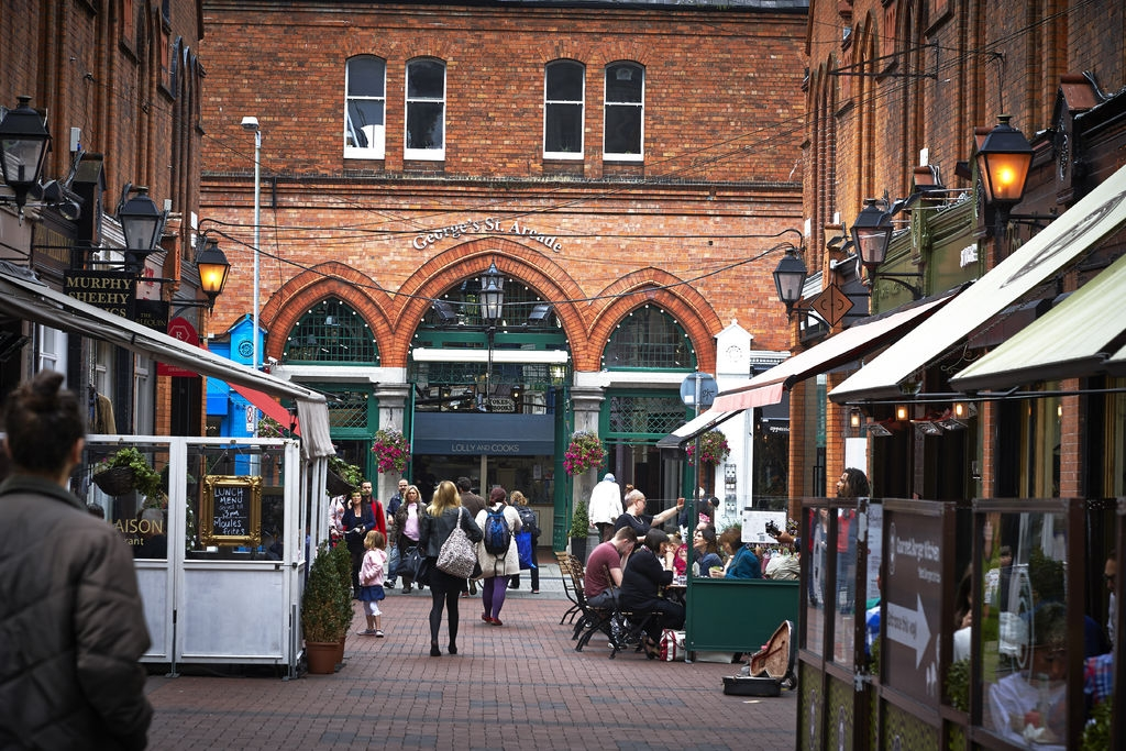 George's Street Arcade, Dublin | Image credit: Photography by Andrew Bradley, courtesy of Visit Dublin