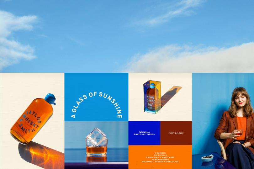 Taylor & Smith Whisky Packaging & Launch Campaign | Direction & Design: Megan Perkins  | Photo: Jesse Hunniford | Brand Ambassador: Sam George-Allen