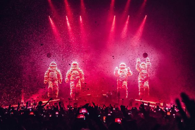 The Chemical Brothers © Luke Dyson, courtesy of Design Museum