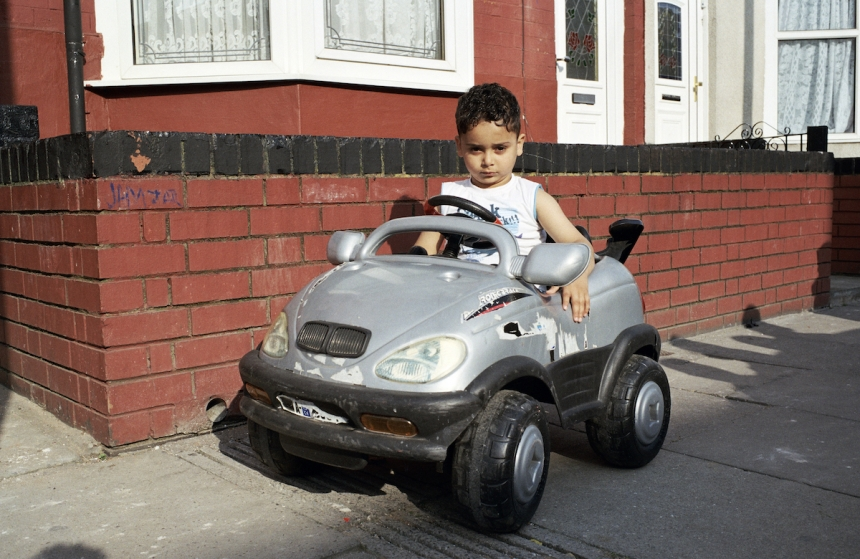 Mahtab Hussain Boy with BMW toy car  from the series You Get Me? 2009 Courtesy the artist