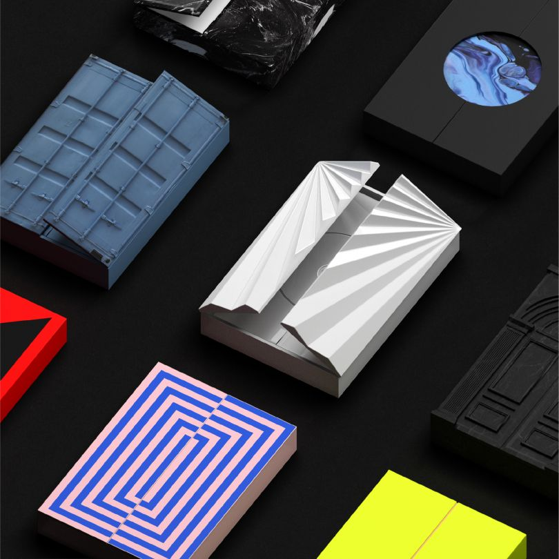 Brand Identity for BigHit Entertainment by Plus X. A' Design Award Winner in the Graphics and Visual Communication Design Category.