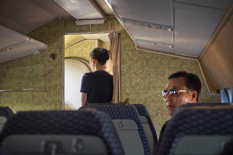 Passenger on the Tupolev-134