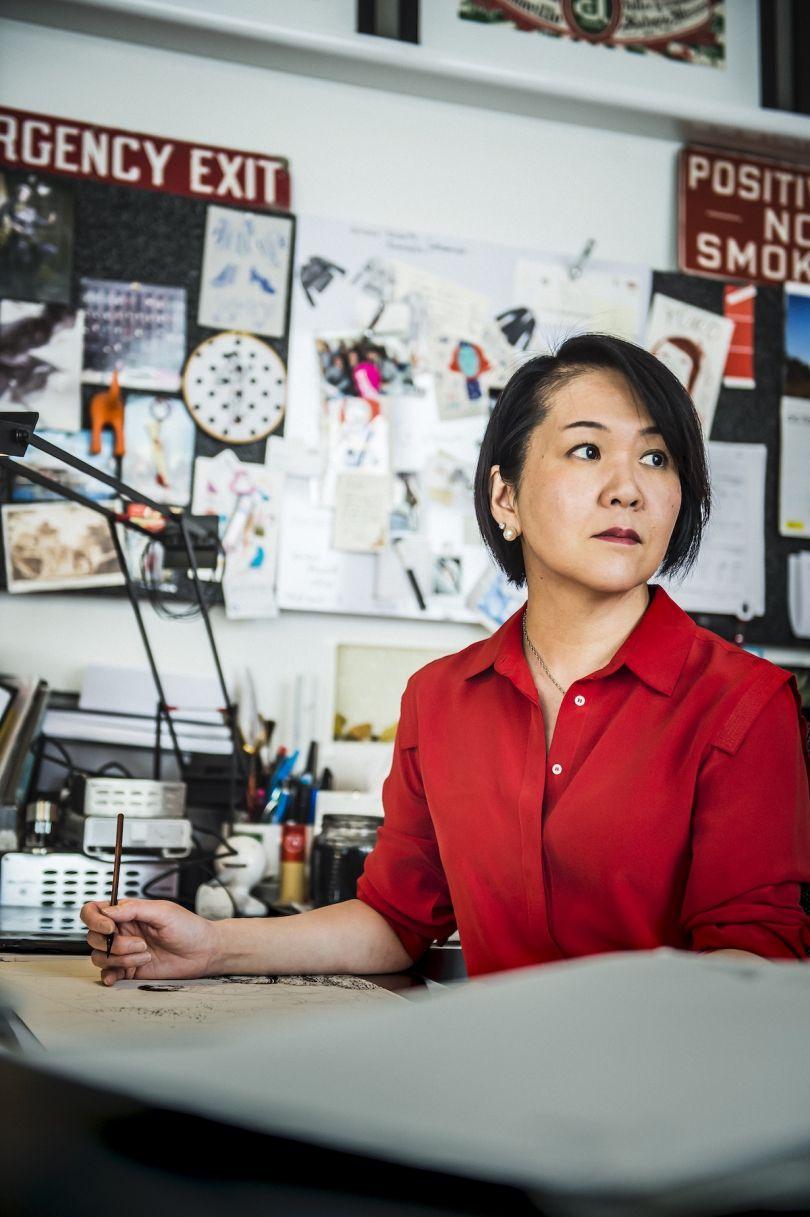 Yuko Shimizu portrait, photo by Joost Joossen