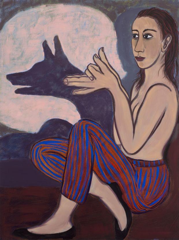 Eileen Cooper, Shadow Fox, 2012 © the artist, Courtesy Huxley-Parlour Gallery