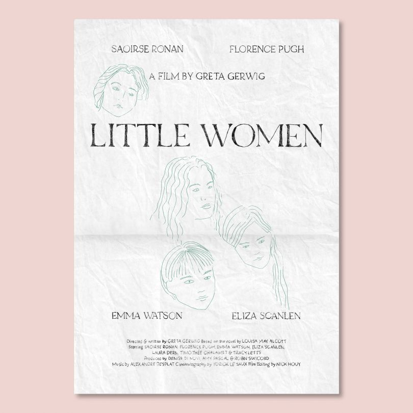 Director, Greta Gerwig © Double Bill Posters, 2021