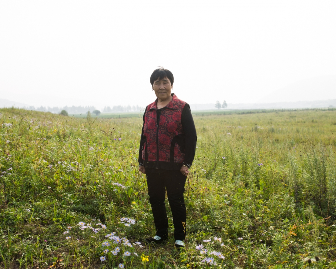 """""""Sometimes I speak Oroqen with my son and my daughter. They understand, but can't speak it. They forgot the language, they go to school for knowledge."""" Daqian, Tuohe, Inner Mongolia"""