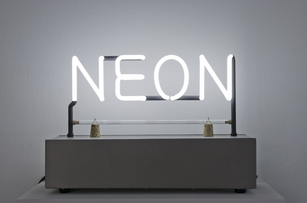 Joseph Kosuth Neon (1965) | © Joseph Kosuth. All rights reserved, DACS 2016**