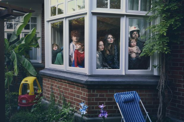 Sophie Ellis-Bextor and Richard Jones, Lockdown Day 53 © Julia Fullerton-Batten