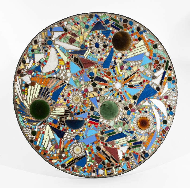 Mosaic Table (1947), Private Collection. © The Pollock-Krasner Foundation, photograph courtesy of Michael Rosenfeld Gallery LLC, New York, NY.