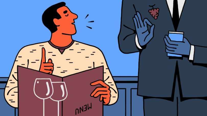 How to appear wise... ordering wine at a restaurant