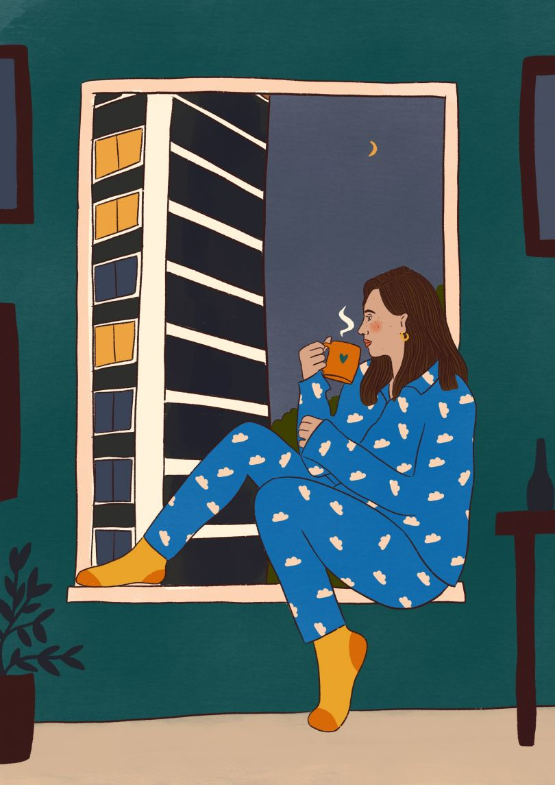 Night time pyjamas © Emmy Lupin
