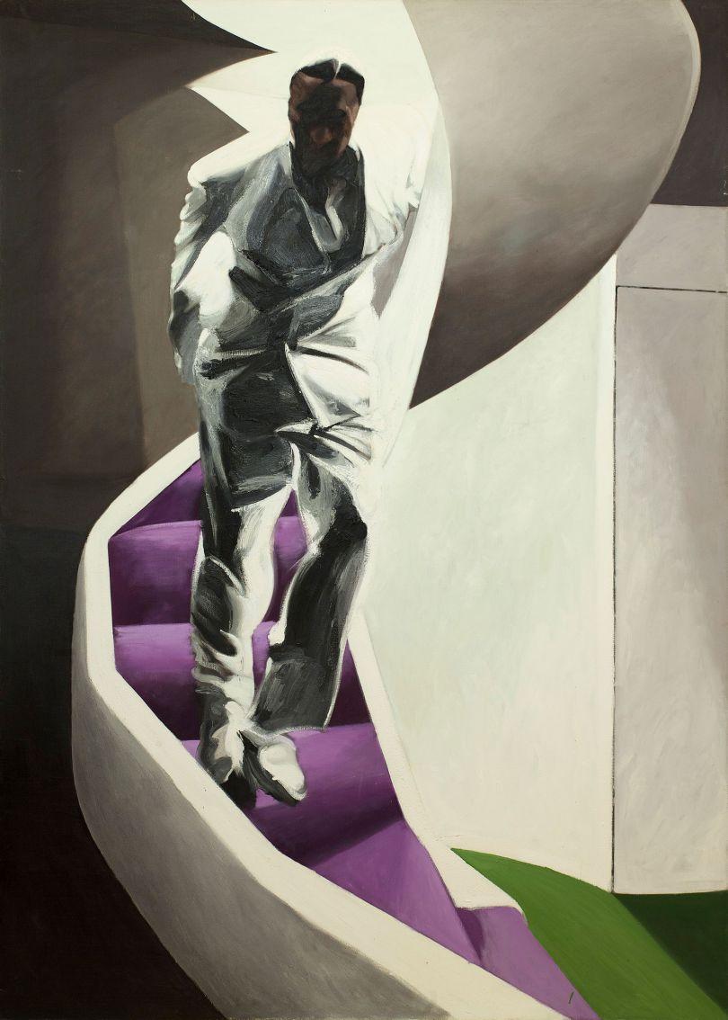 Neil Stokoe, Descending Figure on Staircase, 1994-5