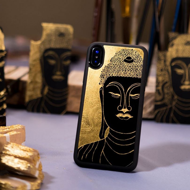 Lacquer Phone Case by La Sonmai. Winner in the Fashion, Apparel and Garment Design Category, 2019-2020.