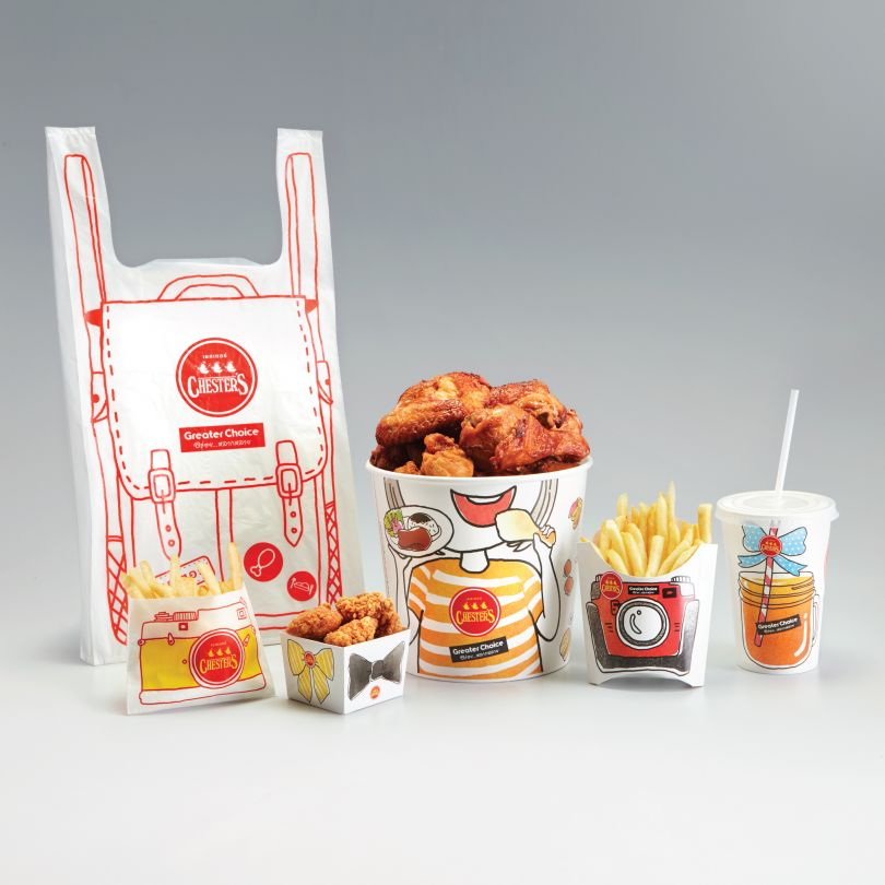More Enjoyable Time Takeaway Fast Food Packaging by Pasito Design is Winner in Packaging Design Category, 2018 - 2019