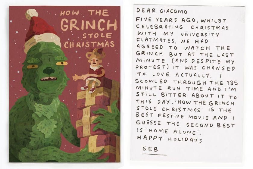 Seb Westcott postcard for a Boomer
