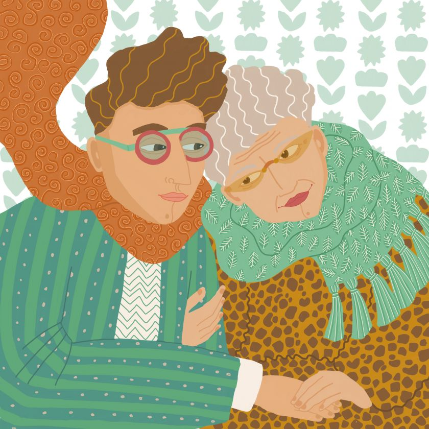 Designer Adam Nathaniel Furman is grateful for his Grandmother