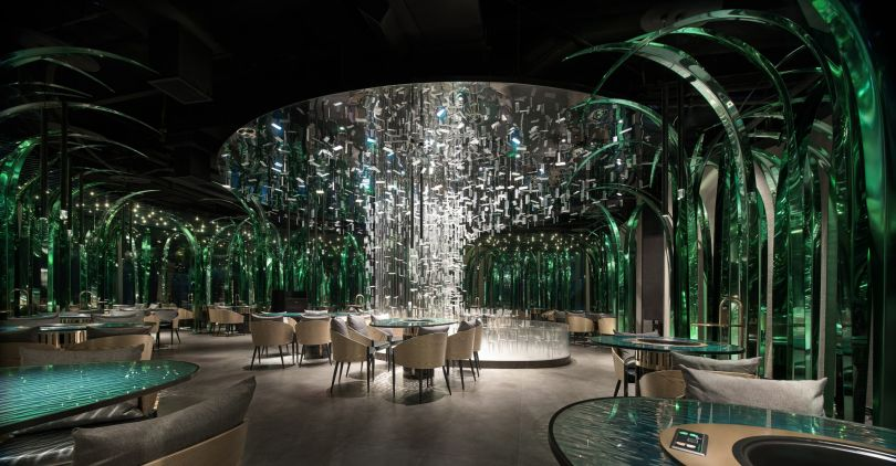Fengyuan Original Interior Restaurant by Lili Xie and Fan Huang. Winner in the Interior Space and Exhibition Design Category, 2019-2020.