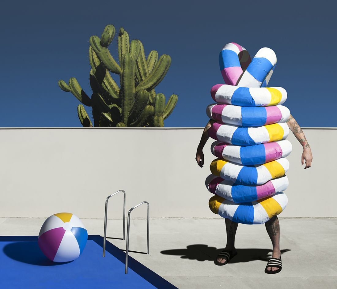 Supernatural, colourful creatures dreamt up by Australian photographer Gerwyn Davies