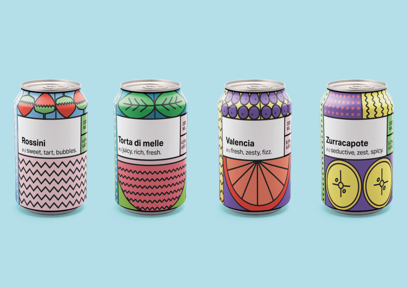 Packaging design by Minka Marriott. All images courtesy of Shillington and its students.
