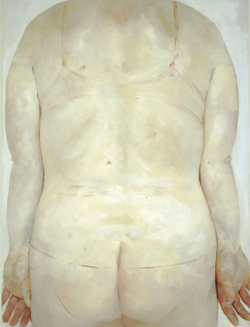 Trace, 1993 - 1994 Oil on canvas, 213.4 x 182.9 cm  © Jenny Saville. Courtesy of the artist and Gagosian