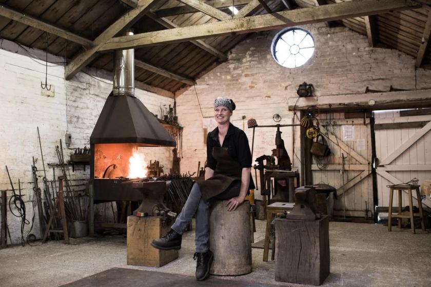 Melissa Cole - Artist Blacksmith