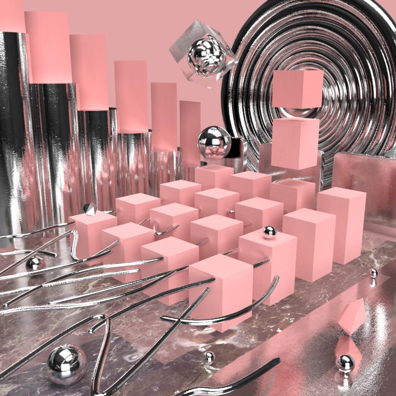 Simoul Alva, experiments in 3D