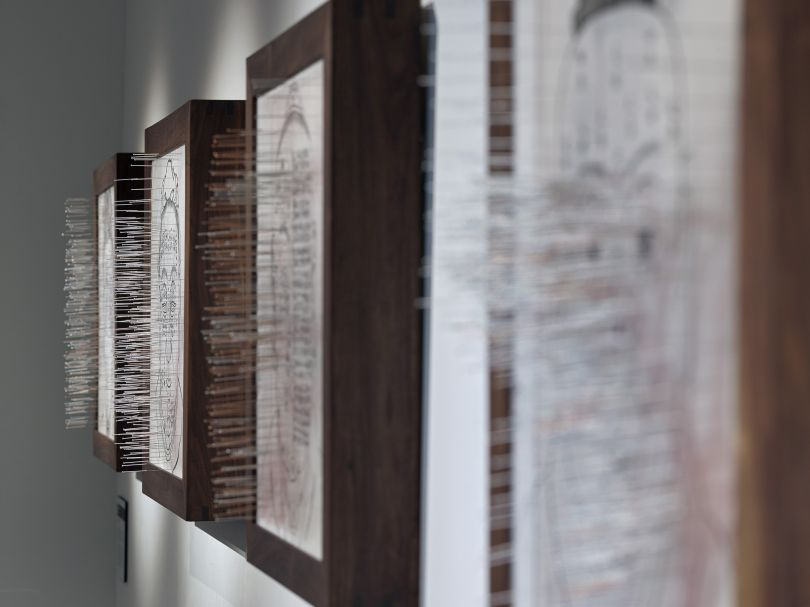Secret Path 1-4 by Zhang Yanzi at Surgeons' Hall Museums. Credit: John McKenzie and Galerie Ora-Ora