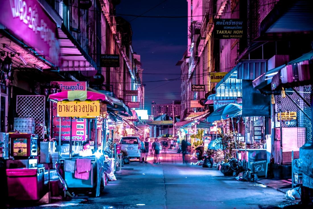 bangkok glow futuristic photography series by xavier portela looks
