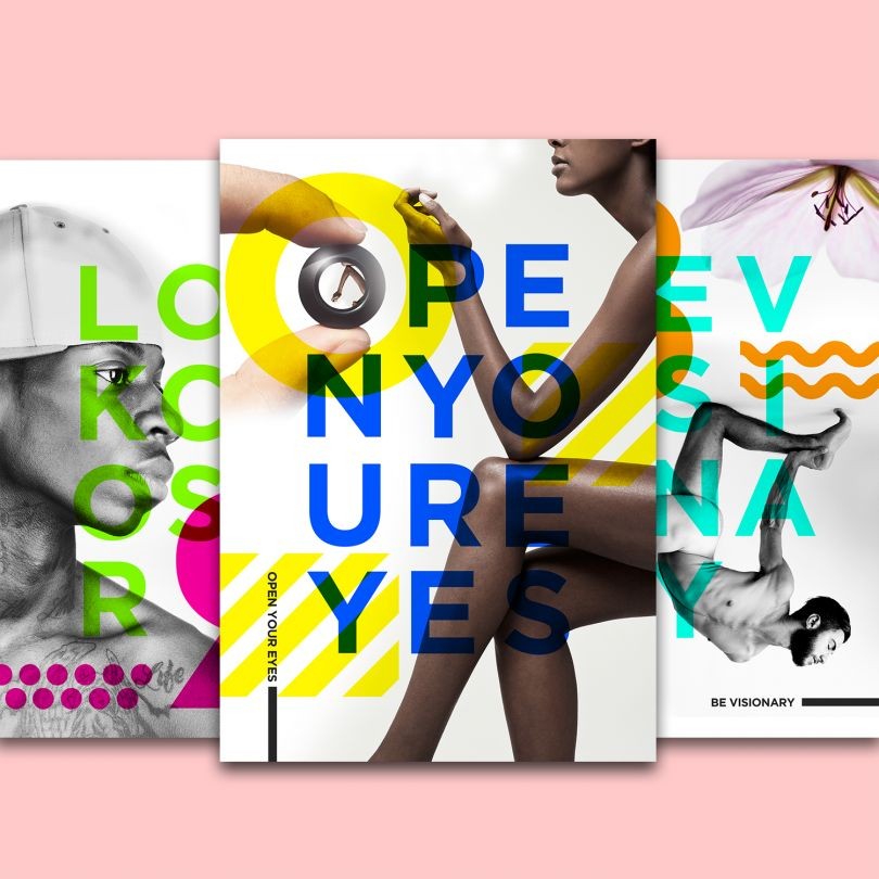 Poster designs for Getty Images by Mike Kus
