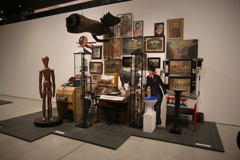Magnificent Obsessions: The Artist as Collector, Hanne Darboven's collection. Photograph by Peter McDiarmid